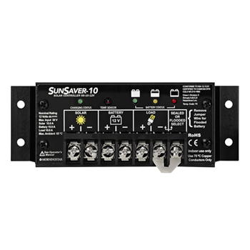 Morningstar SunSaver SS-10-12V 10 Amp 12VDC PWM Charge Controller