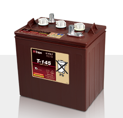 Trojan T145 > 6V, 287Ah, Signature Line Deep-Cycle Flooded Battery