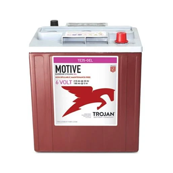 Trojan Motive TE35-GEL 210Ah 6VDC Group DIM Deep-Cycle Gel Battery