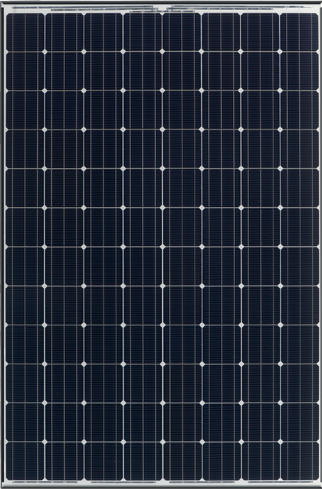 Panasonic VBHN330SA16  > 330Watt, 96 Cell HIT, Monocrystalline, Black Frame/White Backsheet Solar Panel