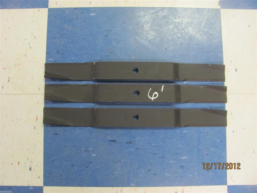 Set of 6' Finishing Mower Blades - Maschio, Caroni, Ect