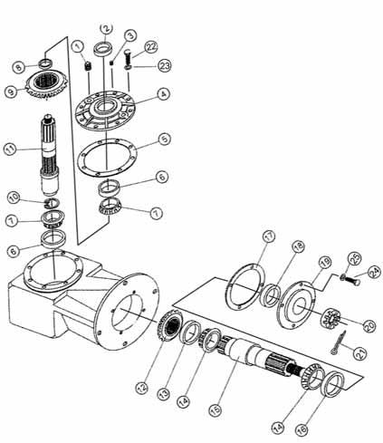 Bush Hog Gearbox Diagram