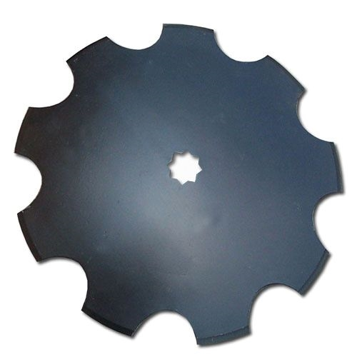 Notched Disc Harrow Blade 1 : Quot notched harrow disc mm with or square shaft