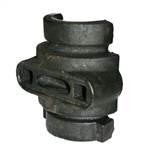 "Bearing Cap w/ Zerk for 1"" Square Harrow Axle"