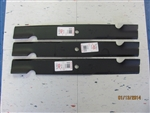 3 REPLACEMENT USA BLADES- BAD BOY 038-2007-00 EXMARK 103-2530 TORO 105-7718-03