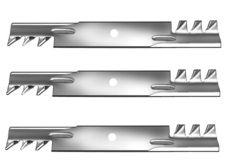 "SET OF (3) 17 7/8"" COMMERCIAL MULCHING BLADES"