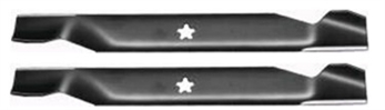 "Set of (2) 19-5/16"" 5 Point Star Blades"