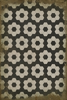Spicher & Company Pattern 02 Resonance Vinyl Floorcloth - USA-Made Rug | BSEID