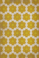 Spicher & Company Pattern 02 The Bee's Knees Vinyl Floorcloth