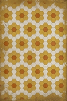 Spicher & Company Pattern 02 Pushing up Daisies Vinyl Floorcloth
