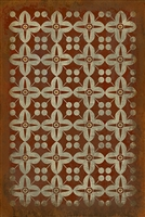Spicher & Company Pattern 03 The Poppy Field Vinyl Floorcloth