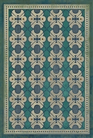 Designer Spicher & Company Pattern 05 Mrs Hudson Vinyl Floorcloth | BSEID