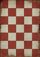 Designer Spicher & Company Pattern 07 Checked Out Vinyl Floorcloth | BSEID