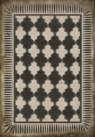 Designer Spicher & Company Pattern 10 Open Sesame Vinyl Floorcloth | BSEID