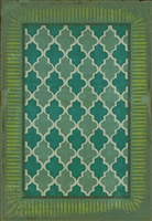 Spicher & Company Pattern 10 Aladdin Vinyl Floorcloth - USA-Made Rug | BSEID