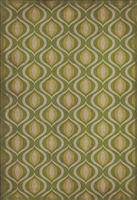 Designer Spicher & Company Pattern 15 Eye Of Newt Vinyl Floorcloth | BSEID