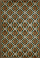 Spicher & Company Pattern 15 Svengali Vinyl Floorcloth - USA-Made Rug | BSEID