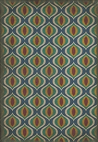 Spicher & Company Pattern 15 Constantinople Vinyl Floorcloth