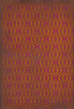Spicher & Company Pattern 15 Phoenix Vinyl Floorcloth - USA-Made Rug | BSEID