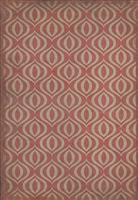 Luxury Designer Spicher & Company Pattern 15 Genie Vinyl Floorcloth