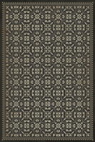 Pattern 21 By Hook or by Crook Vinyl Floorcloth