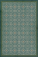 Spicher & Company Pattern 21 Contrariwise Vinyl Floorcloth | BSEID