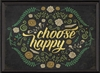 Designer Choose Happy Art Print - USA Made Thoughtful Gifts For Grads | BSEID