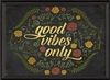 Spicher & Company Good Vibes Only Art Print - Sun Inspired Home Décor