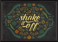 Designer Shake It Off Art Print - USA Made Inspirational Wall Art | BSEID