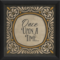 Once Upon A Time Home Office Decor - USA Made Designer Framed Art | BSEID