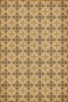 vinyl floor mat lattice tile pattern cream tan