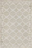 vinyl floor mat floral tile pattern tan cream