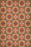 Spicher & Company Pattern 19 Faraday Vinyl Floorcloth - USA-Made Rug | BSEID