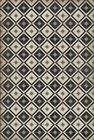 Luxury Designer Spicher & Company Pattern 20 Stark Vinyl Floorcloth