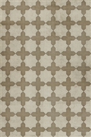 Spicher & Company Pattern 23 Nazareth Vinyl Floorcloth - USA-Made Rug | BSEID