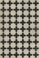 Luxury Designer Spicher & Company Pattern 23 Coptic Vinyl Floorcloth