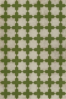Designer Spicher & Company Pattern 23 Olive Tree Vinyl Floorcloth | BSEID
