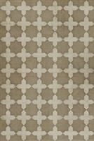 Spicher & Company Pattern 23 Disciple Vinyl Floorcloth - USA-Made Rug | BSEID