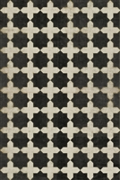 Luxury Designer Spicher & Company Pattern 23 Gnosis Vinyl Floorcloth