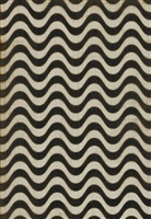 Spicher & Company Pattern 18 Frequency Vinyl Floorcloth - USA-Made Rug | BSEID