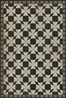 Spicher & Company Pattern 29 Voltaire Vinyl Floorcloth - USA-Made Rug | BSEID
