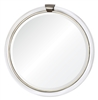 Designer Luxury Wall Hung Round Acrylic Mirror