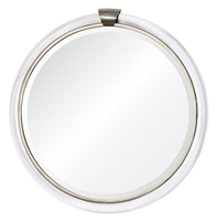 Round Acrylic Mirror (finish options)