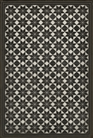 Spicher & Company Pattern 20 Stargazer Vinyl Floorcloth - USA-Made Rug | BSEID