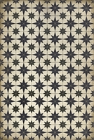 Spicher & Company Pattern 20 Astraea Vinyl Floorcloth - USA-Made Rug | BSEID