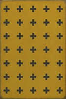 Luxury Designer Spicher & Company Pattern 24 Crete Vinyl Floorcloth