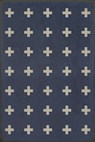 Luxury Designer Spicher & Company Pattern 24 Greece Vinyl Floorcloth