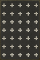 Luxury Designer Spicher & Company Pattern 24 Ionia Vinyl Floorcloth