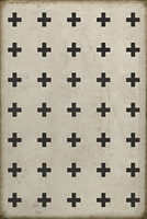 Luxury Designer Spicher & Company Pattern 24 Ithaca Vinyl Floorcloth