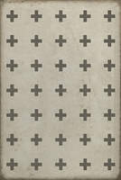 Luxury Designer Spicher & Company Pattern 24 Kyros Vinyl Floorcloth